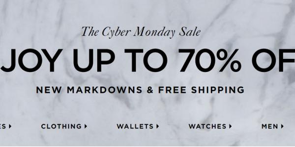 <b>Micheal Kors:</b> Enjoy up to 70% dịp Cyber Monday, siêu rẻ