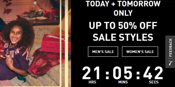<b>Puma:</b> Sale off 70% toàn bộ website chỉ trong 1 ngày