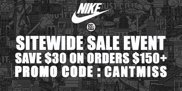 <b>Nike:</b> Tặng code giảm $30 cho đơn từ $150 toàn bộ sản phẩm, rẻ lắm