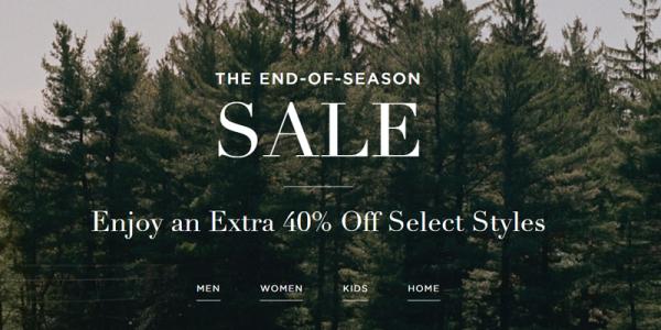 <b>Ralph Lauren:</b> Extra 40% với hàng sale, sale chồng sale rất nhiều sản phẩm hấp dẫn