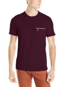 Original Penguin Men's 100 Percent Cotton Jersey TV Bird Pocket Tee Shirt