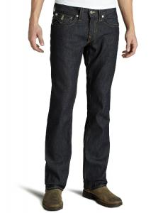 True Religion Men's Ricky Straight Leg Jean in Raw