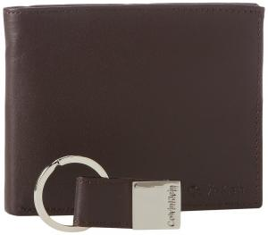 Calvin Klein Men's Leather Bookfold