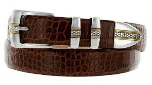 Milan Italian Calfskin Leather Designer Dress and Golf Belts for Men