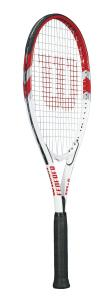 Wilson Sporting Goods Federer Adult Strung Tennis Racket without Cover
