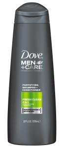 Dove Men+Care Fresh Clean Fortifying 2 in 1 (12oz)