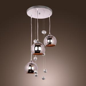 LightInTheBox Pendant Light with 3 Lights in Metal