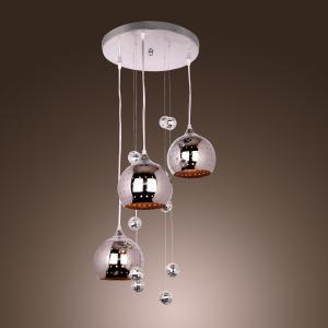 LightInTheBox Pendant Light with 3 Lights in Metal