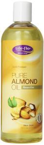 Life-Flo Oil, Pure Almond, 16 Ounce