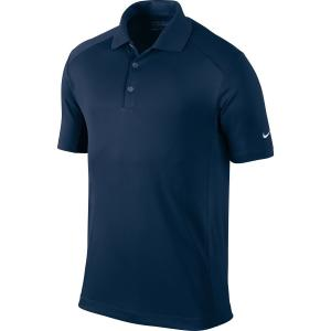 Nike Golf 2014 Dri-FIT Victory Polo Pitch Blue/White Small