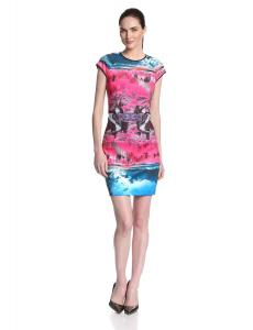 Ted Baker Women's Ismay Road To Nowhere Printed Sheath Dress