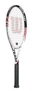 Wilson Federer Team Strung Adult Recreational Tennis Racket