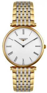 Longines L47092117 La Grand Classic in Steel and 18k Gold Ultra Thin Men's Watch