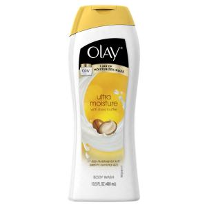 Olay Ultra Moisture Moisturizing Body Wash With Shea Butter 13.5 Oz