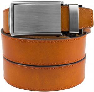 SlideBelts Premium Full Grain Leather Ratchet Belt