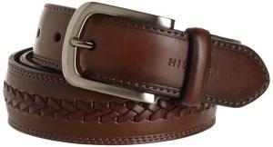 Tommy Hilfiger Men's Double-Stitched Leather Belt