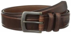 Columbia Men's 40mm Oil Tan Leather Edge Belt