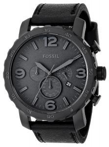 Đồng hồ Fossil Men's JR1354 Nate Analog Display Analog Quartz Black Watch
