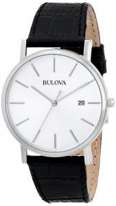 Đồng hồ Bulova Men's 96B104 Silver Dial Dress Watch