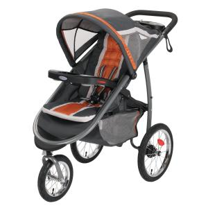 Xe đẩy Graco FastAction Fold Jogger Click Connect Stroller, Tangerine