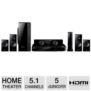 Dàn âm thanh Samsung Speaker Smart 3D Blu-ray & DVD Home Theater System Includes Two Full-Range Wireless Front & Surround Speakers Plus Full-Range Center Speaker & Dual Unit Subwoofer Captivating 2D And 3D In Full HD 1080p, Built-i