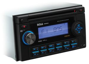 BOSS Audio 822UA In-Dash Double-Din Detachable CD/USB/SD/MP3 Player Receiver with Remote