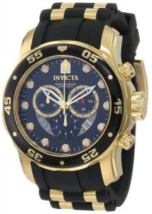 Đồng hồ Invicta Men's 6981 Pro Diver Collection Chronograph Black Dial Black Dress Watch