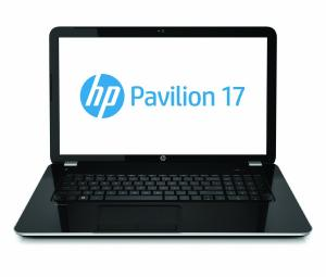 Máy tính xách tay HP Pavilion 17-e140us 17.3-Inch Laptop (2.4 GHz Intel Core i3-4000MDC Processor, 4GB DDR3L, 750GB HDD, Intel HD graphics 4600, Windows 8.1) Silver