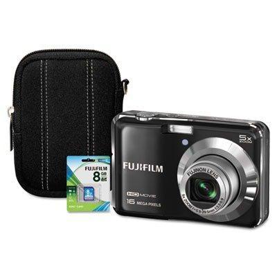 Fuji Finepix Ax650 Digital Camera Bundle, 16Mp, 5X Optical Zoom, 7.2X Digital Zoom