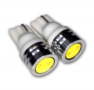 TuningPros LEDLP-T10-WHP1 License Plate LED Light Bulbs T10 Wedge, High Power LED White 2-pc Set