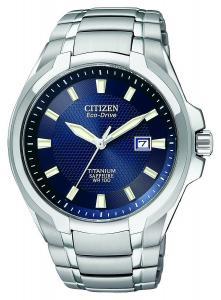 Đồng hồ Citizen Men's BM7170-53L Titanium Eco-Drive Watch