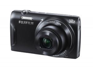 Fujifilm FinePix T500 16MP 12x Optical/24x fixed LCD Digital Zoom Camera (Black)