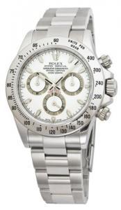 Đồng hồ Rolex Daytona White Index Dial Oyster Bracelet Mens Watch 116520WSO