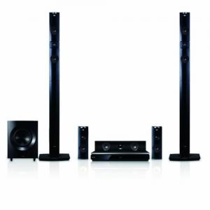 Dàn âm thanh LG BH9431PW 1460W 3D Blu-Ray Theater System with Smart TV, Sound, Wireless Rear Speakers, Tall Fronts (Black Cones)