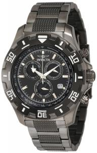 Đồng hồ Invicta Men's 6412 Python Collection Chronograph Gun Metal Stainless Steel Watch