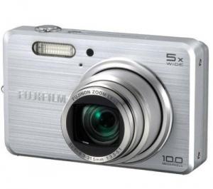 Fujifilm FinePix J110W digital camera 10 MP 5X Zoom Silver