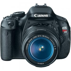 Canon EOS Rebel T3i Digital SLR Camera with EF-S 18-55mm f/3.5-5.6 IS Lens (discontinued by manufacturer)