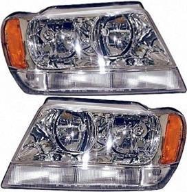 Prime Choice Auto Parts KAPJP10082C1PR Headlight Pair
