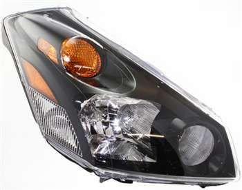 Evan-Fischer EVA13572030278 Headlight Composite Passenger Side RH Plastic lens OE Style Clear DOT, SAE approved