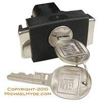 700874 GM Glove Box Lock Assy (coded with keys) - Strattec Lock Part