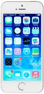 Apple iPhone 5s, Silver 16GB (Unlocked)