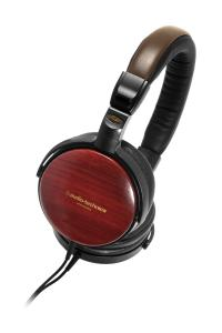 Tai nghe Audio Technica ATHESW9A Portable Wooden Headphones