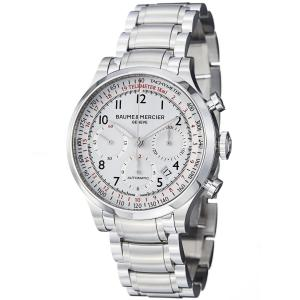 Đồng hồ Baume & Mercier Capeland Men's Stainless Steel Automatic Chronograph Watch 10061