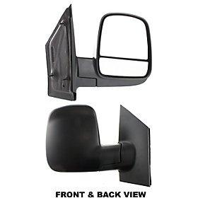CHEVROLET EXPRESS VAN 08-10 SIDE MIRROR RIGHT PASSENGER, FOLDING, KOOL-VUE, NEW!