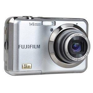 Fujifilm FinePix AX250 14MP 5x Optical/6.7x Digital Zoom HD Camera (Silver)