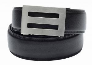 Dây lưng TRAKLINE Men's Intrepid Stainless Steel Buckle Full Grain Leather Belt