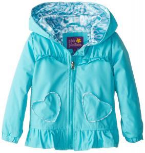 Áo khoác Pink Platinum Little Girls'  Hearts Of Leopard Outerwear Jacket