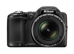 Máy ảnh Nikon COOLPIX L830 16 MP CMOS Digital Camera with 34x Zoom NIKKOR Lens and Full 1080p HD Video (Black)