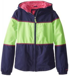 Áo khoác London Fog Big Girls'  Windbreaker Jacket with Kanga Pockets