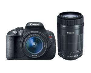 Máy ảnh Canon EOS Rebel T5i with 18-55mm STM + 55-250mm STM Lenses